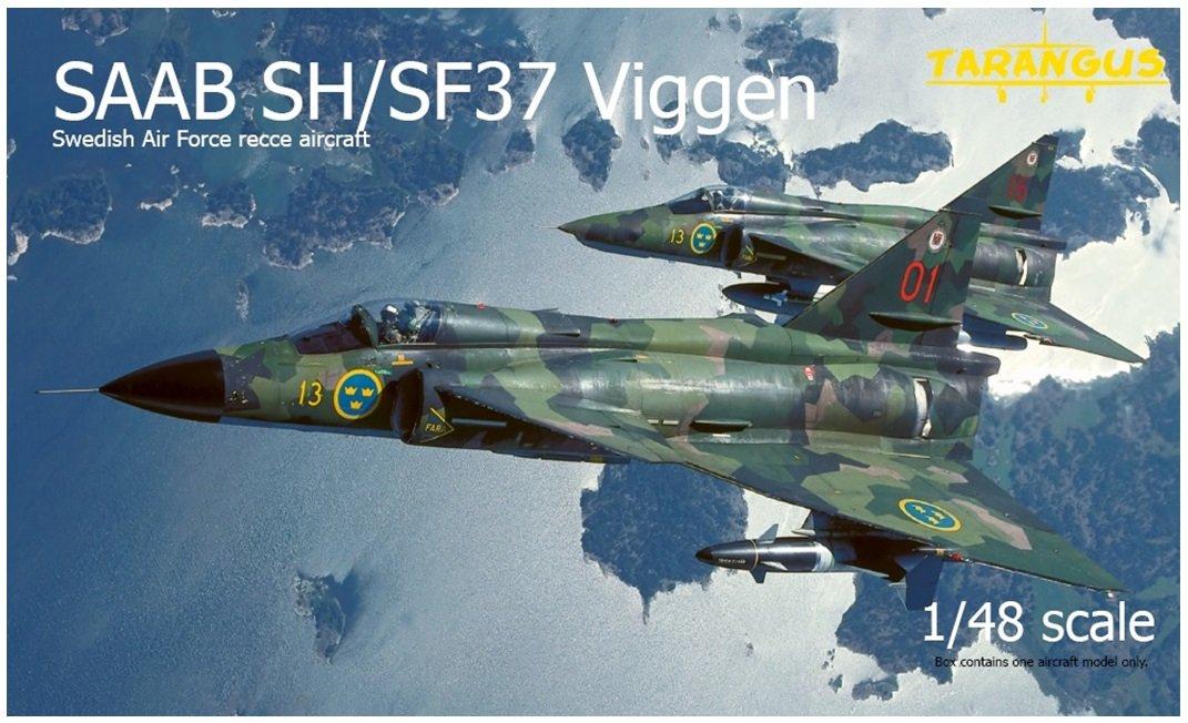 タラングス 1/48 スウェーデン空軍 サーブ SH/SF37 ビゲン偵察機 プラモデル TGSTA4807 B0719DRBZF