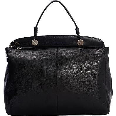 Derek Alexander Large Top Zip Shoulder bag (Black Black)  Handbags ... 2f36d35e21bc3