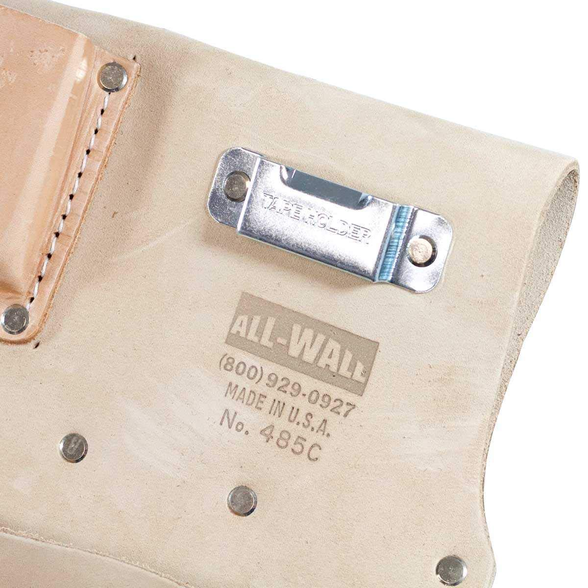 8-Pocket Drywall Hangers Pouch with Tape Clip