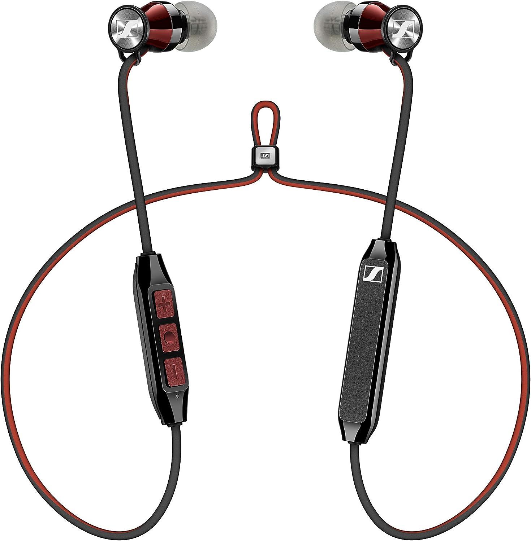 Sennheiser Momentum Free SE Edición Especial - Auriculares (Bluetooth 4.2, Qualcomm apt-X Low Latency) color rojo y negro