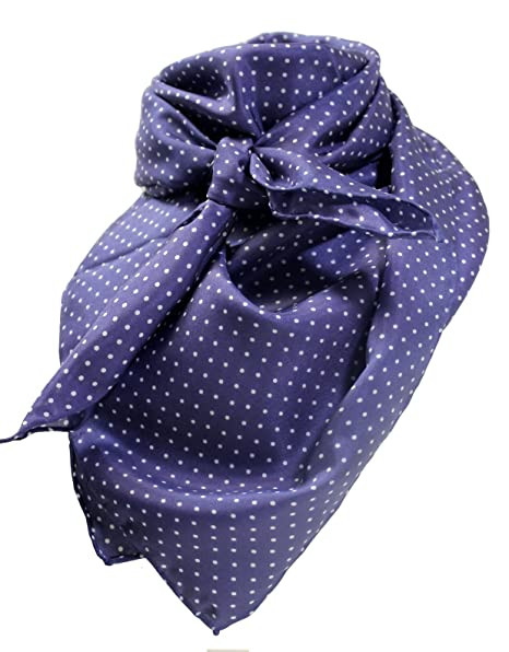 f2768c29c14ca4 Image Unavailable. Image not available for. Color: Navy Dot Wild Rag