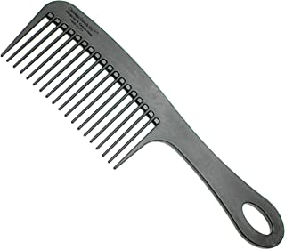 product image for Chicago Comb Model 8 Carbon Fiber, Made in USA, Anti-static, Detangling & Shower comb, adds Lift & Volume, 8.5 inches (21.5 cm) long