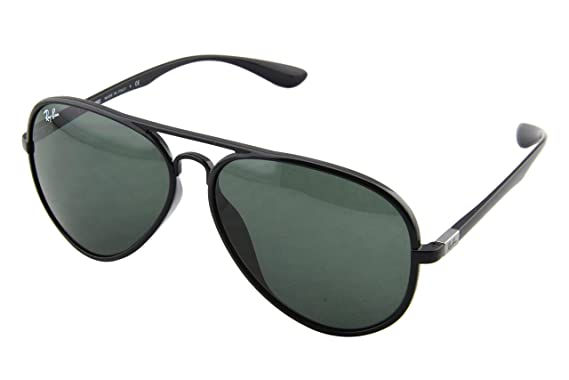 31ae400d0b Ray-Ban Sunglasses RB4180F Aviator LiteForce Asian Fit 601 71   Amazon.co.uk  Clothing
