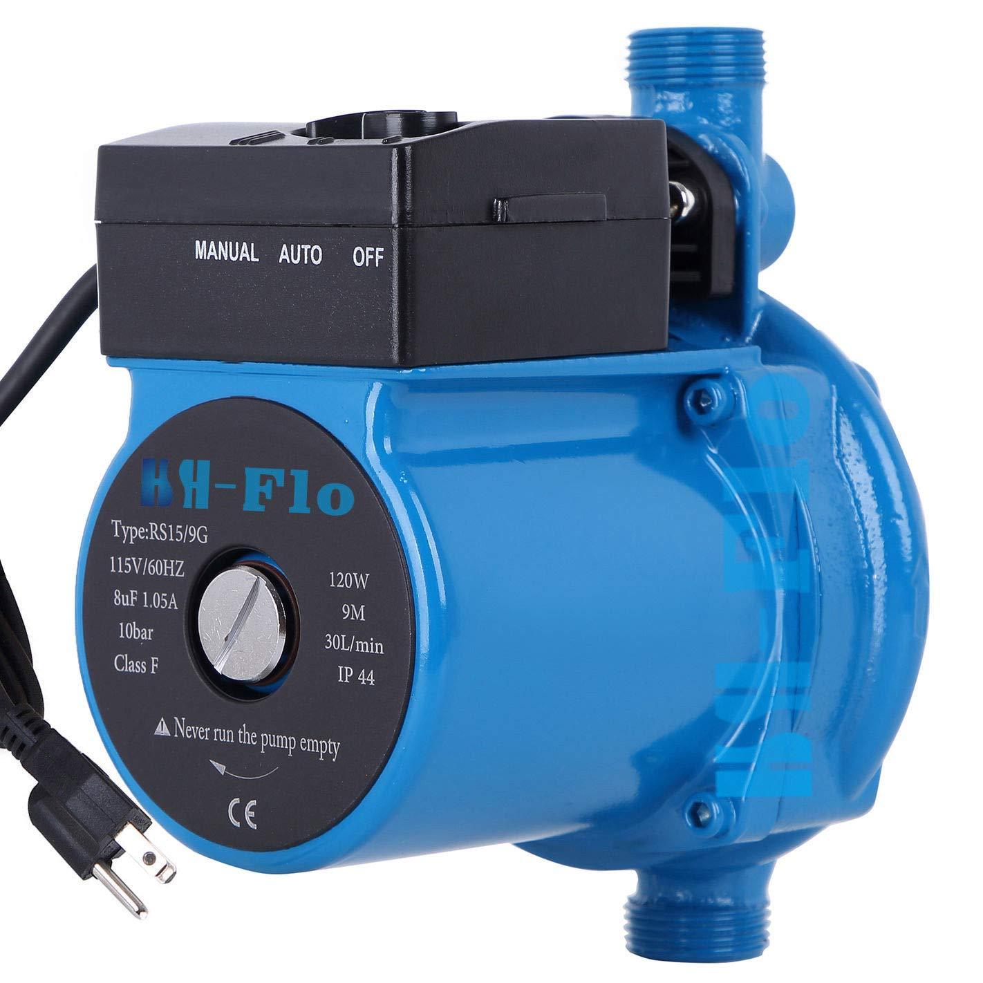 HSH-Flo 3/4'' 110V/120Vac 29Ft Head Circulator Pump Auto Hot Water Circulation Pump
