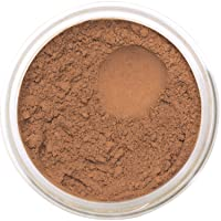 Bella Terra Mineral Powder Foundation | Long-Lasting All-Day Wear | Buildable Sheer to Full Coverage – Matte | Sensitive Skin Approved | Natural SPF 15 (Cinnamon) 9 grams
