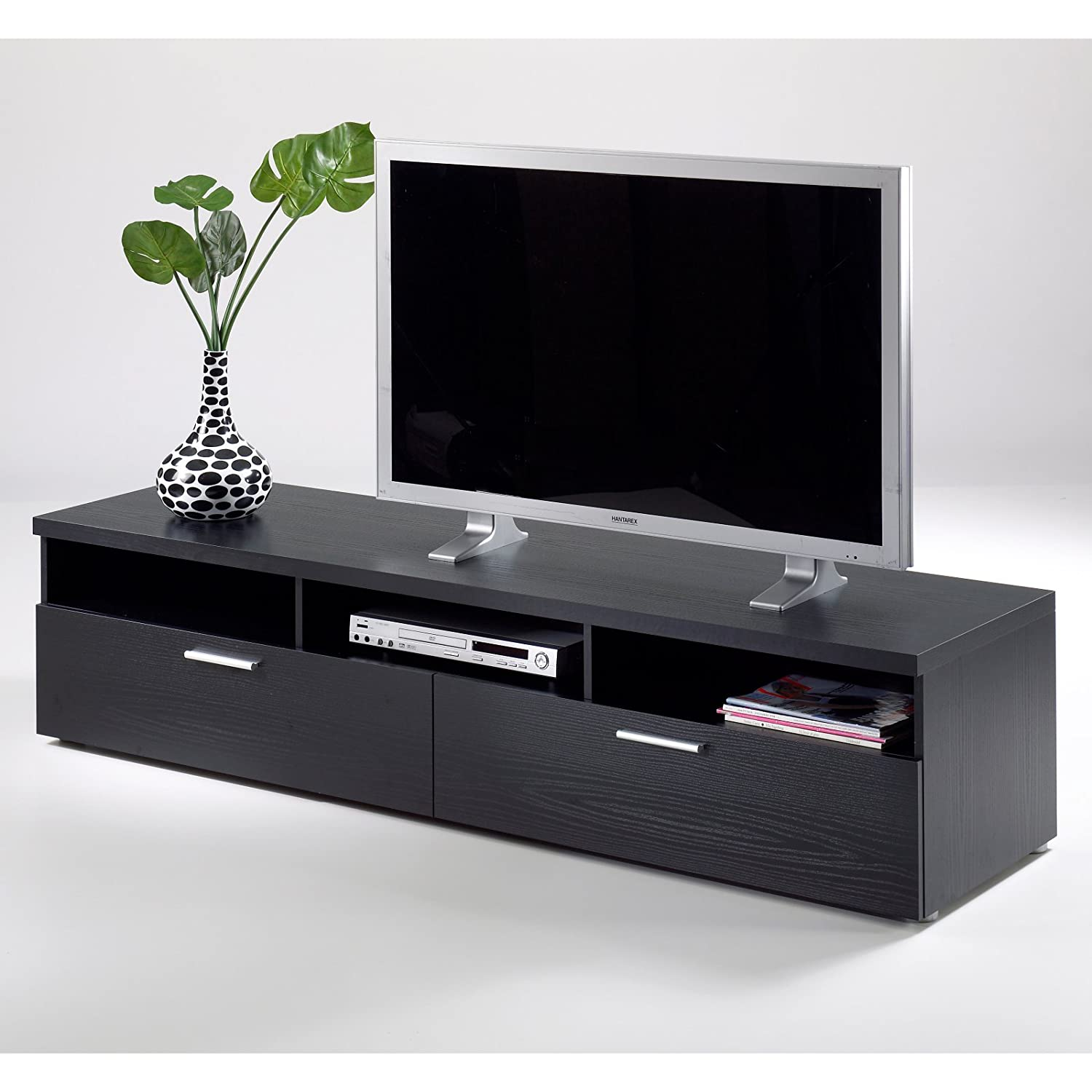 Amazon Com Tvilum Hayward Collection 71 In Tv Stand Kitchen  # Image Table Tv En Melamine