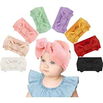 stirnband neugeborenes baby haarband mädchen haarband bowknot turban nylon