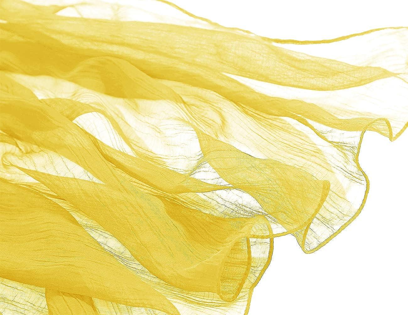 Bridesmay Donna Solida Spiaggia Sciarpe Sciarpa Protezione Solare Scialli Semi-Opaco