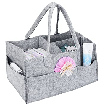 Amazon Baby Shower Caddy Baby Diapper Bag Storage Organizer