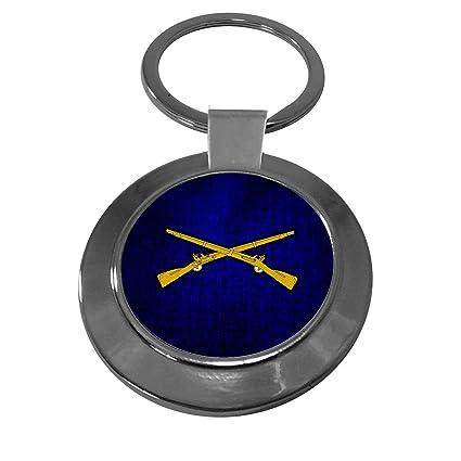 Premium llavero con Estados Unidos Ejército Infantería, rama ...