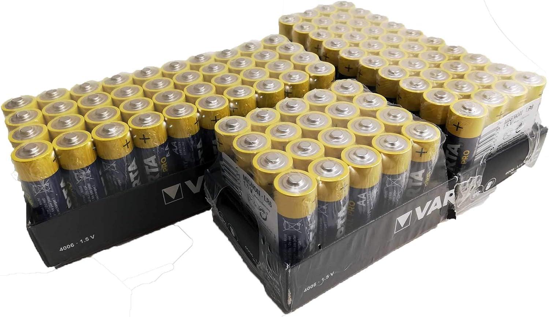 100 X Varta 04006 Batterien Alkaline Mignon Aa Lr06 Elektronik