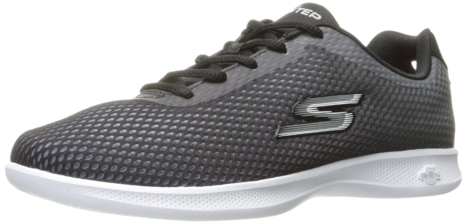 Skechers Performance Women's Go Step Lite-Agile Walking Shoe B01IIBKKEI 6 B(M) US|Black/White Ombre
