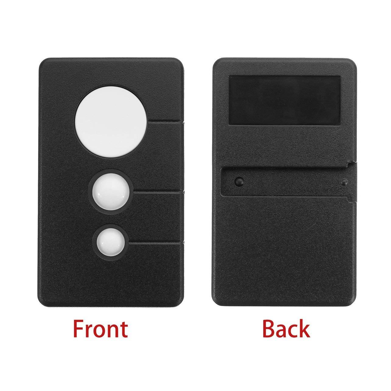 Milabelle Small Size 3 Keys 390MHz Garage Door Remote Opener Suitable for Sears Craftsman Chamberlain LiftMaster 3BTN Black
