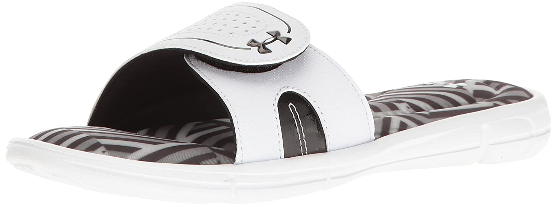 ceb69caac75e Amazon.com  Under Armour Women s Ignite Finisher VIII Slide Sandal  Shoes