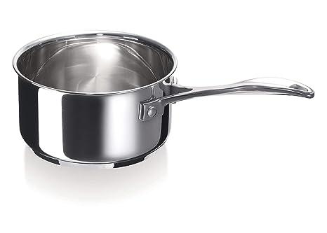 Bekaline Chef - Cazuela, acero inoxidable, compatible con inducción, 20 centímetros