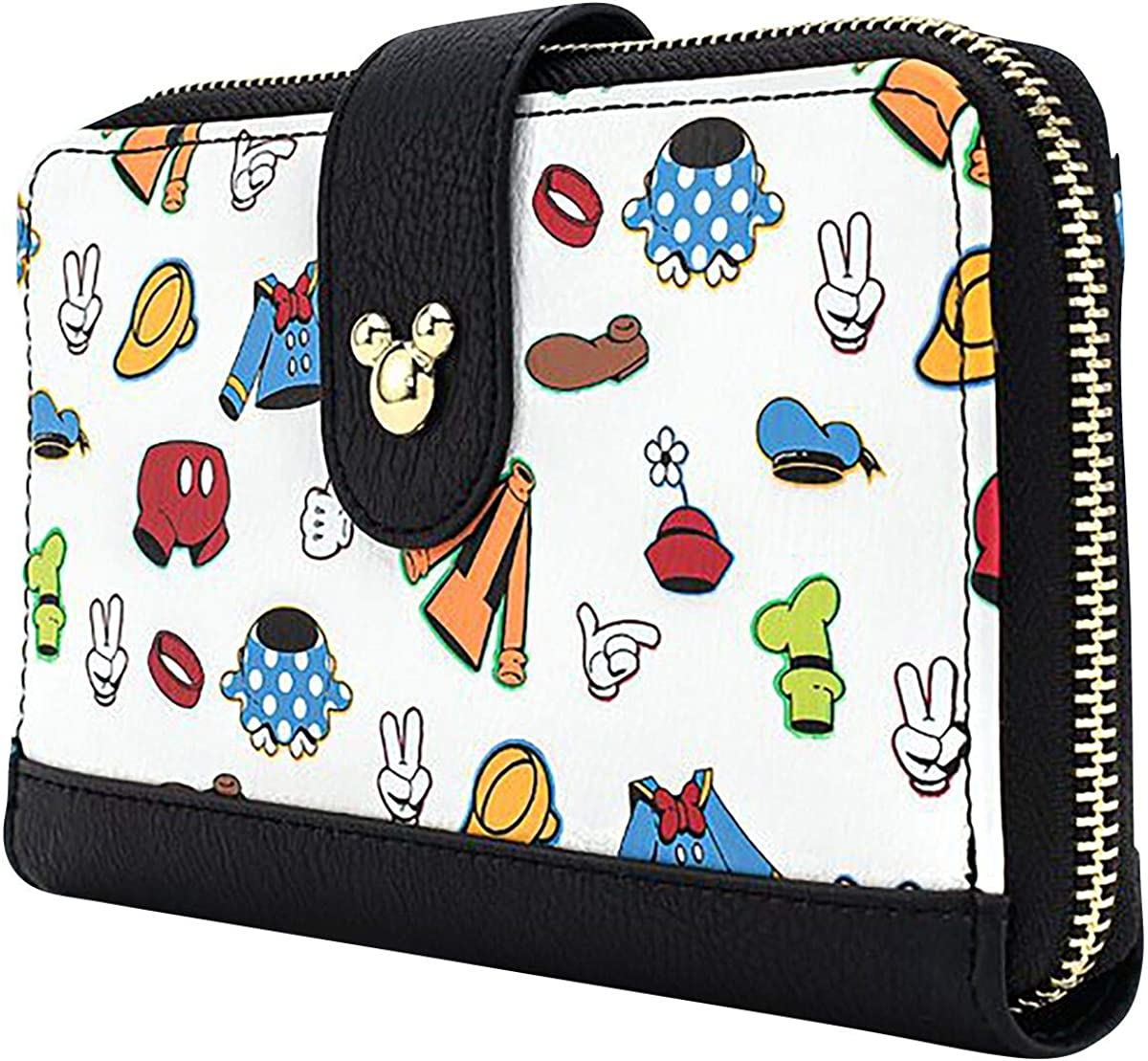 Loungefly x Disney Sensational 6 Outfits AOP Wallet