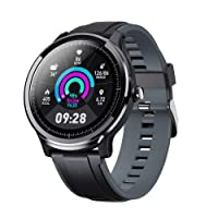 Smart Watch Sport Smart Watch Fitness Tracker for Android and iOS Phone Activity...