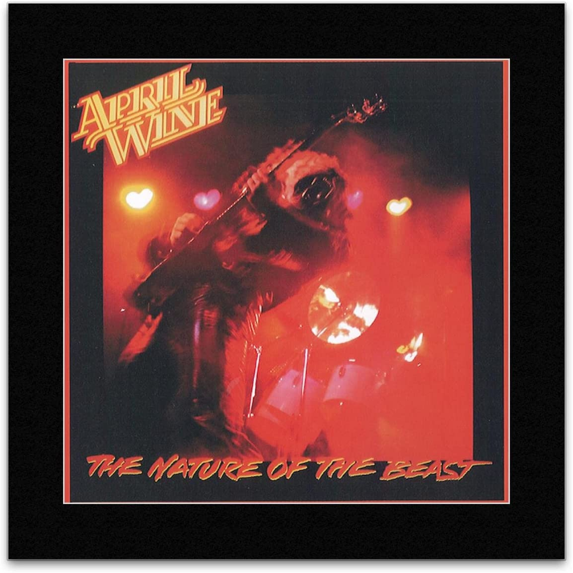 Stick It On Your Wall April Wine - The Nature of The Beast Mini Poster - 18.6x18.6cm