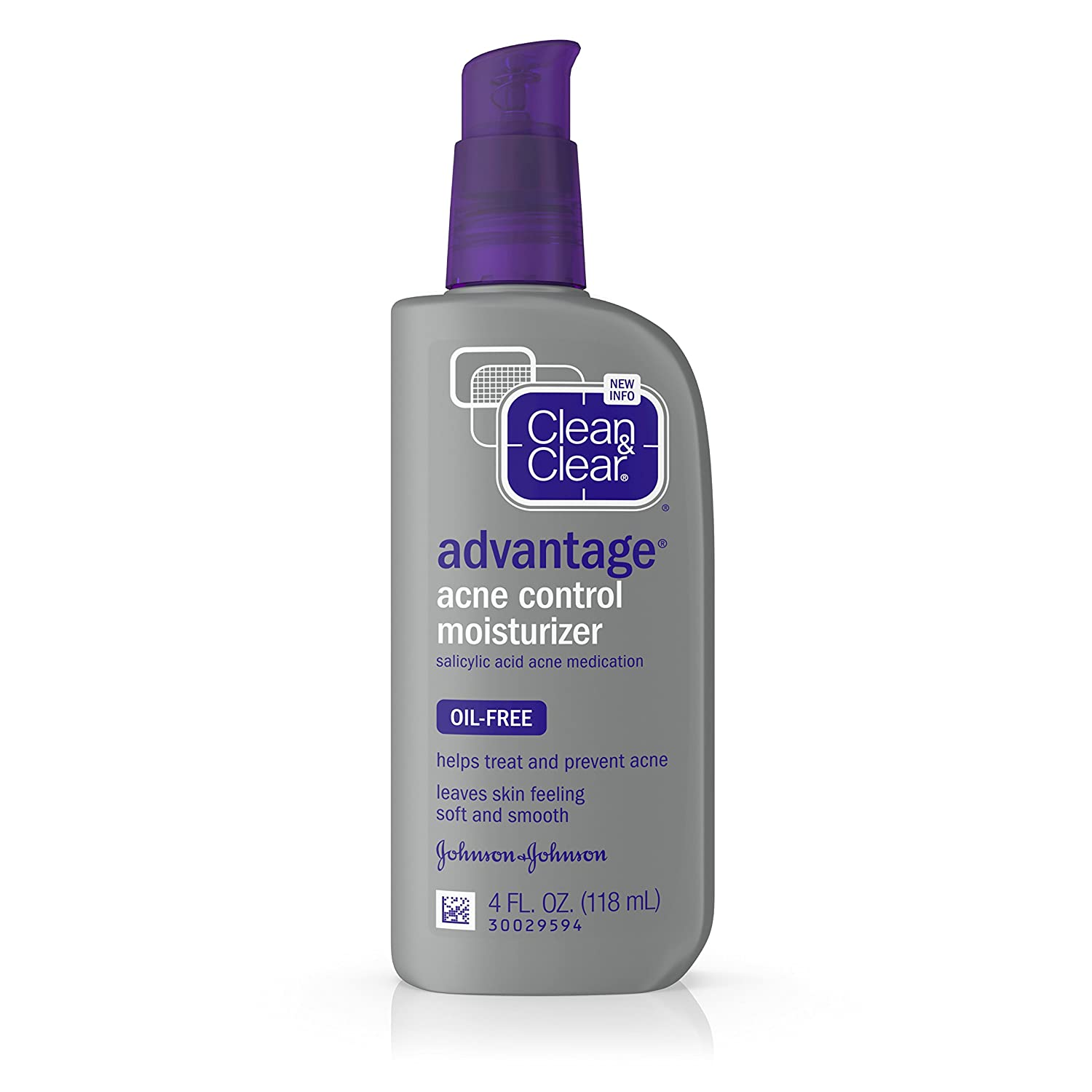 Clean & Clear Advantage Acne Control Face Moisturizer with Salicylic Acid Acne Medication