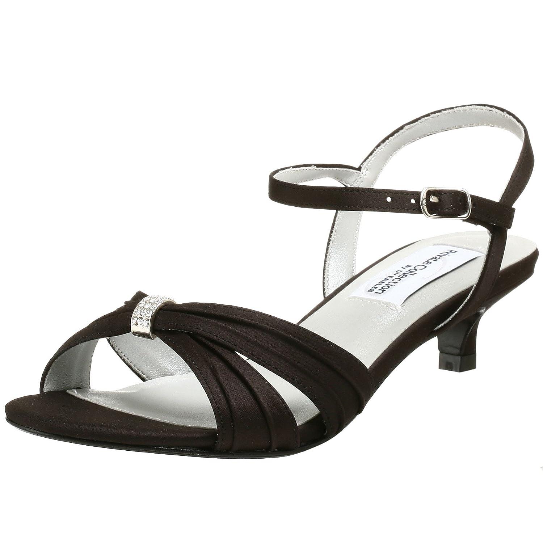Dyeables Women's Fiesta Sandal B00160139A 6 2E|Black