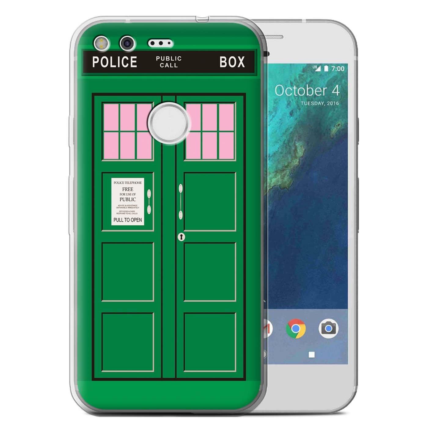 eSwish Carcasa/Funda TPU/Gel para el Google Pixel XL (5.5 ...