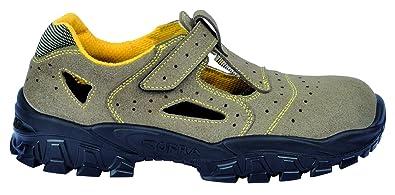 COFRA Sicherheits-Halbschuh Sicherheits-Schuh Arbeitsschuh NEW NILO - S1 SRC - Größe: 37 brV8w0H