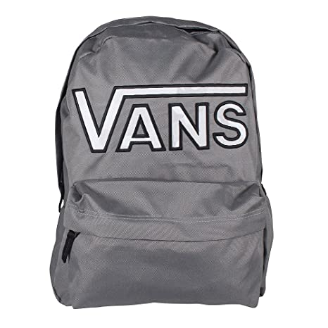 69a50e33a7 Vans Realm Flying V Backpack Zaino Casual, 42 Cm, 22 Liters, Grigio ...