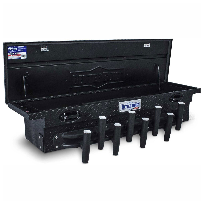 Better Built Aluminum 69'' Low Profile, Crossover Fishing Box, Matte Black - 79211110