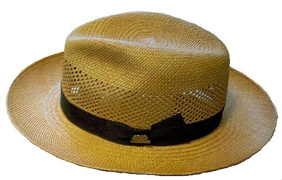 ba9b8bf5c4818 Stetson Best Panama Hat Aviator 150 at Amazon Men s Clothing store