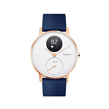 Withings/Nokia Steel HR Rose Gold - Montre connectée hybride - Suivi de l