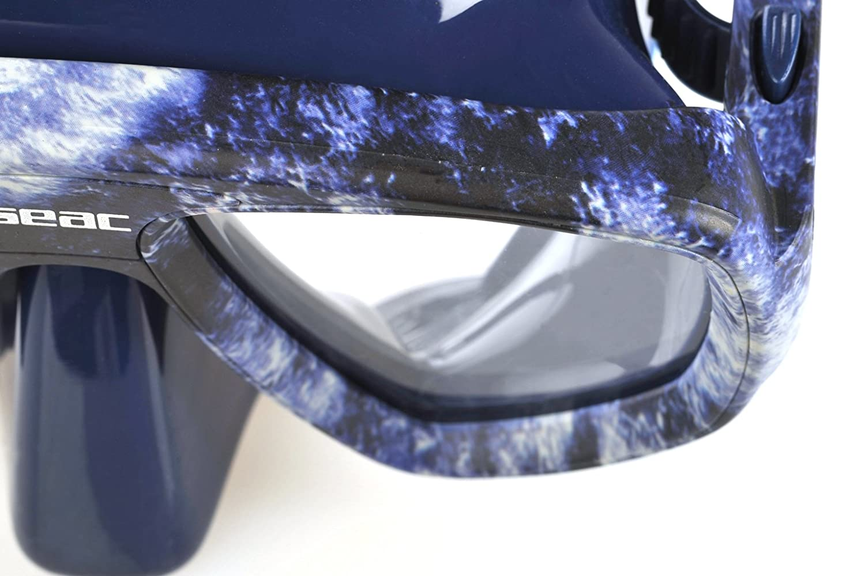 0750017070550A SEAC One Makaira Mask,Camouflage Green Camouflage Seac USA Corp