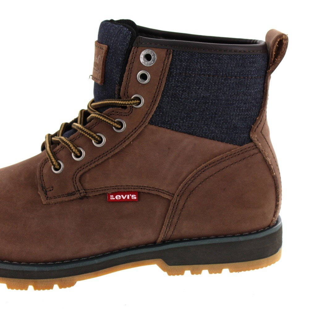 Levis Logan, Botines para Hombre, Marrón (Dark Brown), 40 EU: Amazon.es: Zapatos y complementos