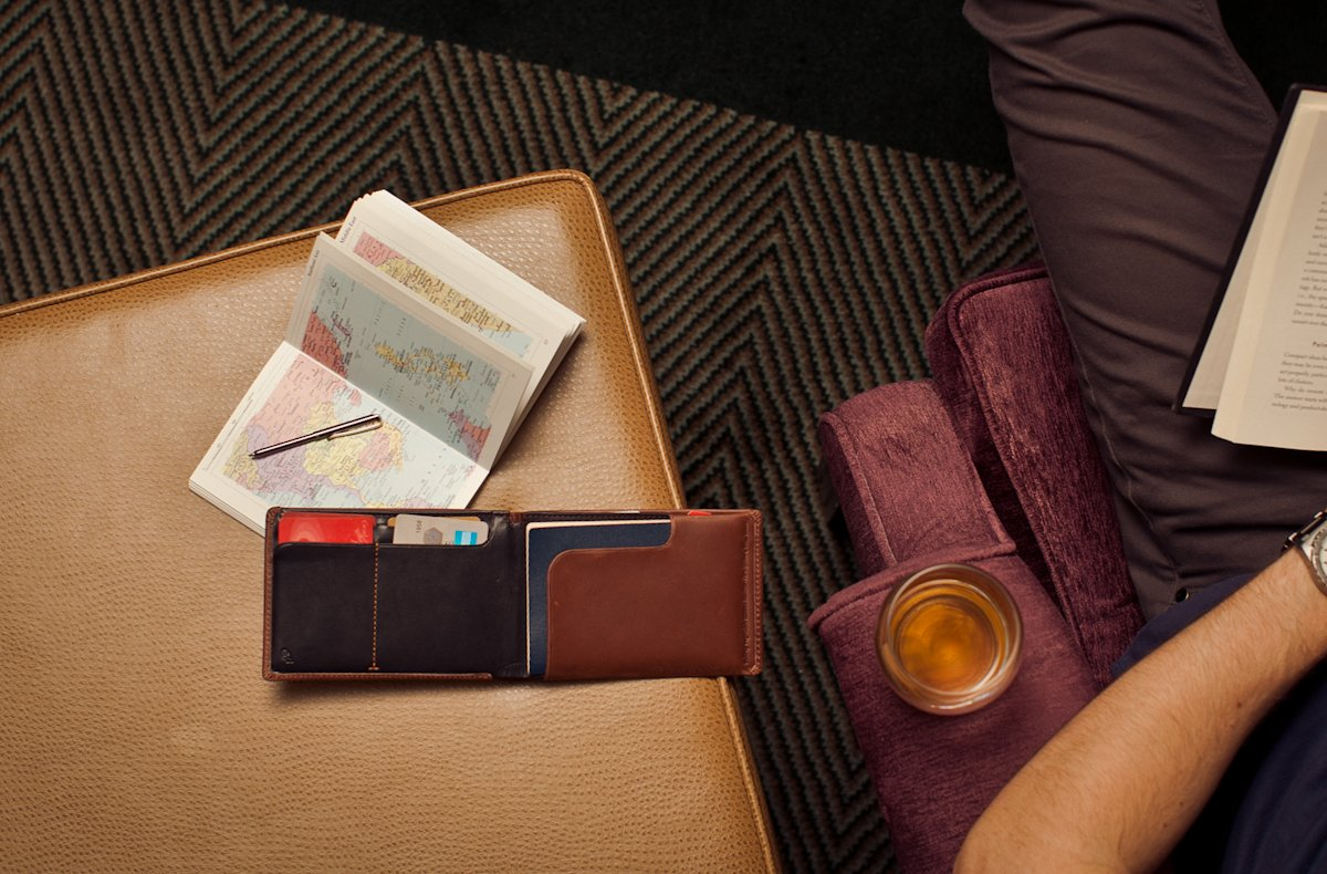 Bellroy Leather Travel Wallet Midnight by Bellroy (Image #8)