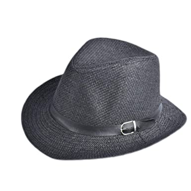 Rising ON Sun-hats New Cap Summer Beach Travel Sunhat Popular Unisex Men  Women Straw 26d85abcb2e