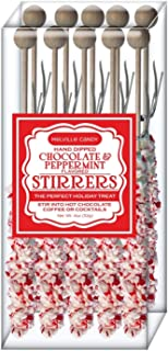 product image for Melville Candy Hot Chocolate Stirrers (Peppermint 10)