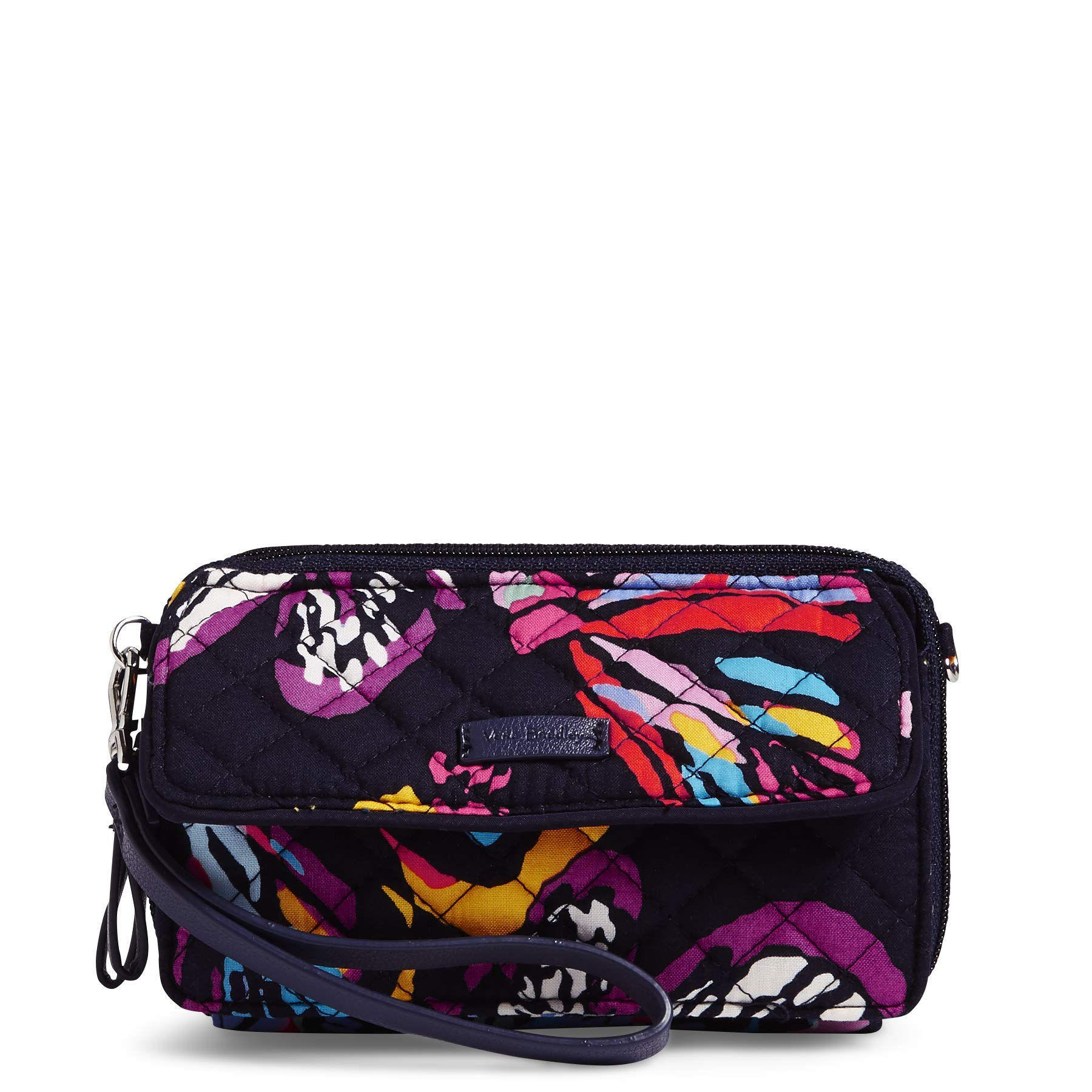 Vera Bradley Iconic RFID All in One Crossbody, Signature Cotton, Butterfly Flutter, Butterfly Flutter, One Size