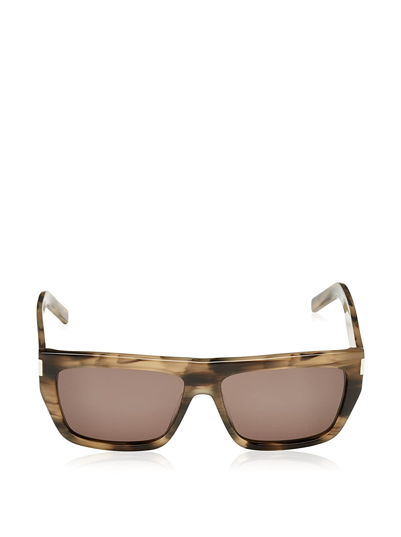 Yves Saint Laurent Unisex Sonnenbrille SL 22 WT3,, Gr. One size,Braun (Havana Tortoise Shell)