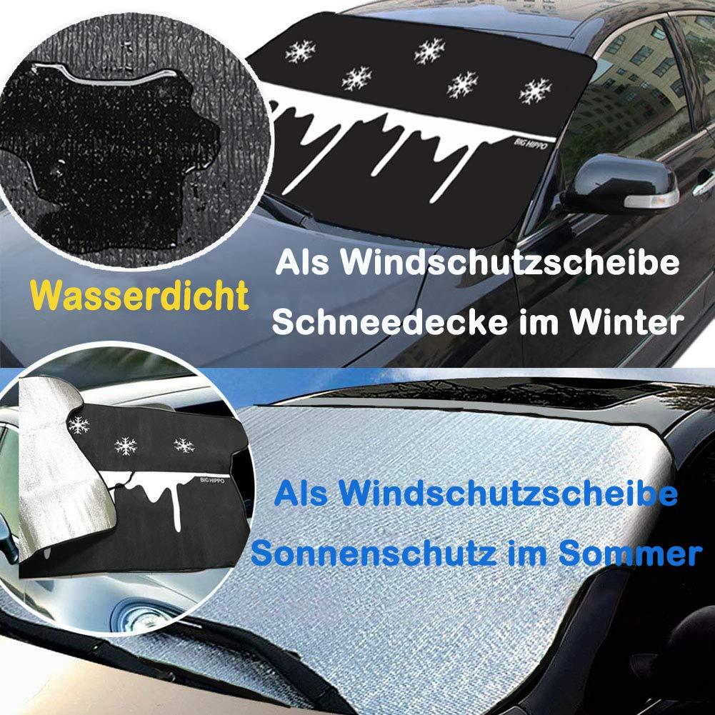 Auto MAGNET Scheibenabdeckung Thermo Frontscheiben Abdeckung Windschutzscheiben