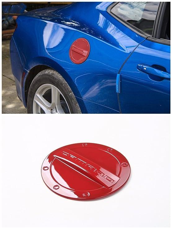 Amazon.com: FMtoppeak 5 Colors Exterior Fuel Tank Cover Gas Lid Cap Accessories ABS For Chevrolet Camaro 2016 Up (Red): Automotive