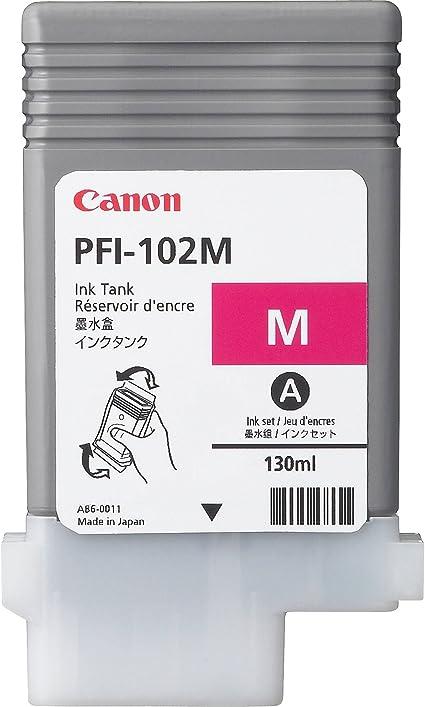 Canon PFI-102M - Cartucho de Tinta para impresoras (Magenta ...