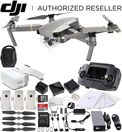 12191110bc8 DJI Mavic Pro Platinum Fly More Combo Collapsible Quadcopter + DJI Goggles Virtual  Reality VR FPV
