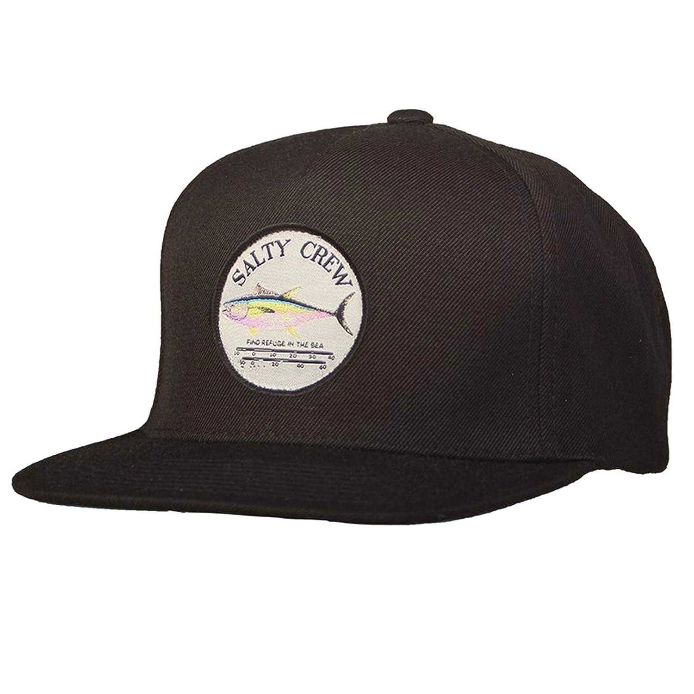 size 40 d9cf5 ee73e Amazon.com  Salty Crew Men s Ahi Gauge 5 Panel Hat, Black, One Size   Clothing