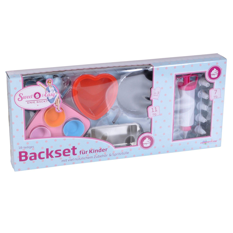 Sweet /& Easy Enie backt Backset für Kinder 10 teilig