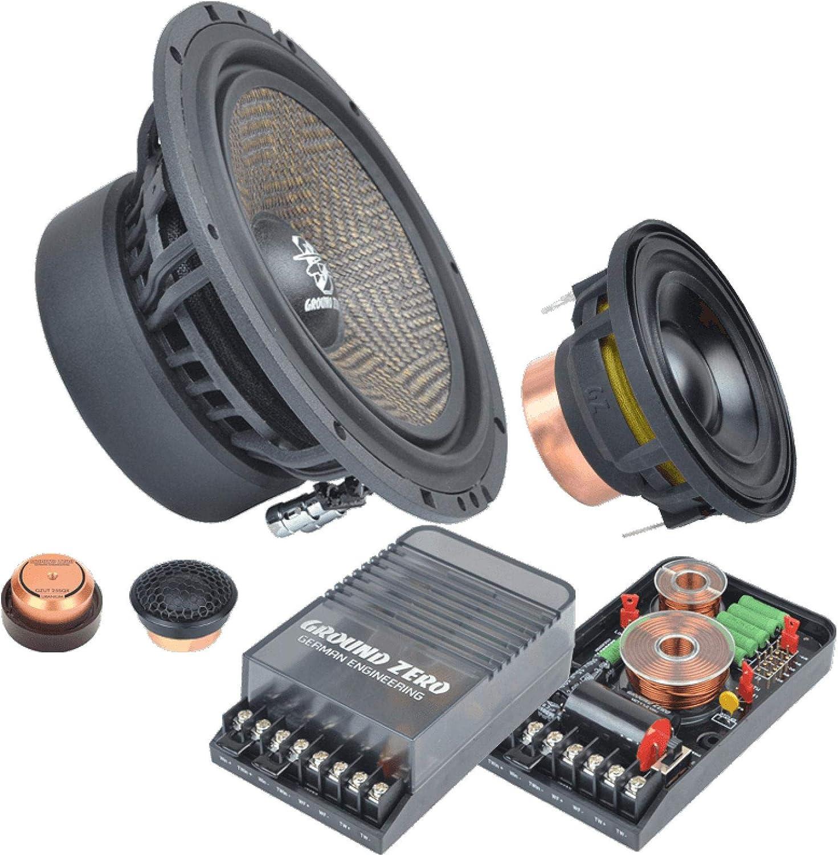 Ground Zero Audio Gzuc 65 3sqx 16cm 3 Wege Lautsprecher System Teilaktiv Navigation