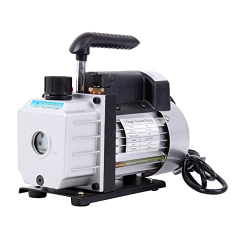 Paneltech 200ml 180 W 1/4HP Bomba de vacío una etapa Vacuum Pump irrigation Pump