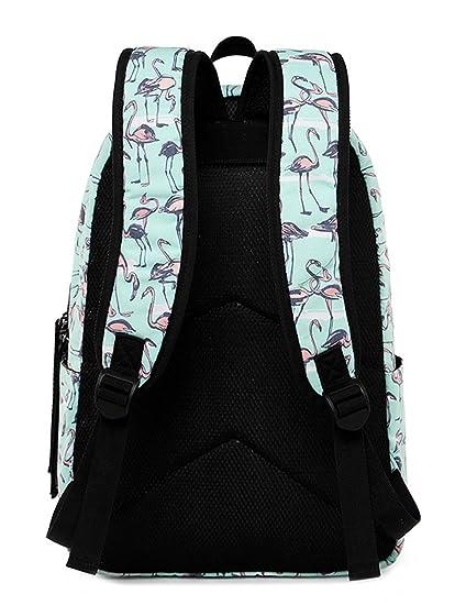 9a35dc7b79 Amazon.com  School Backpack Travel Laptop Backpack Hiking Daypack Student  Shoulder Bag (Flower Black)  Computers   Accessories