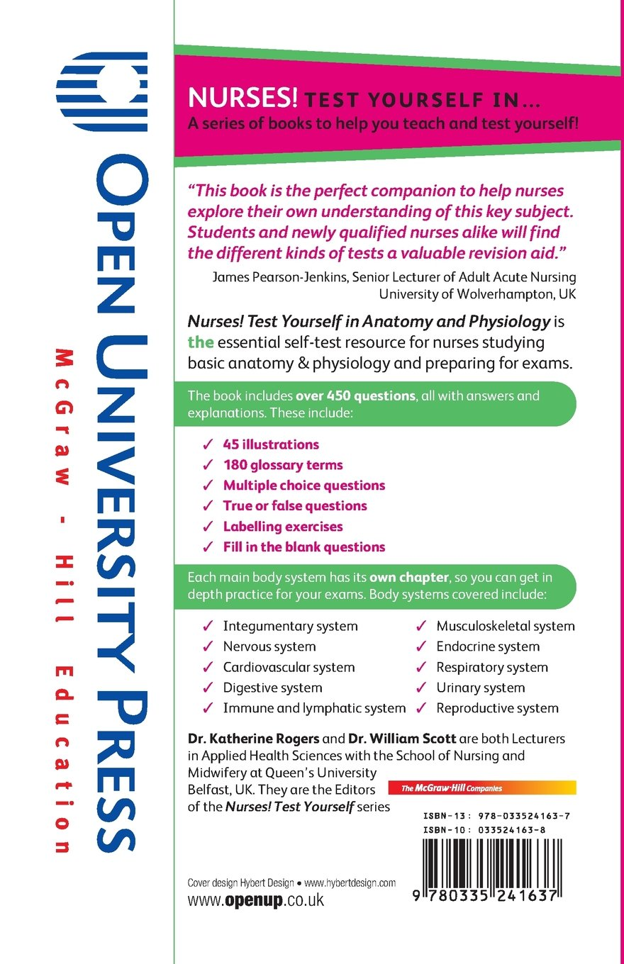 Wunderbar Anatomy And Physiology Questions And Answers For Nurses ...