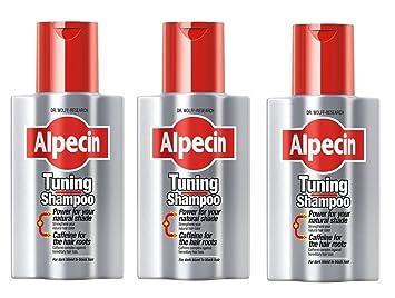 Conjunto de 3 champús Alpecin promotores de crecimiento 200ml: Amazon.es: Belleza