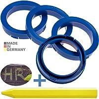 RKC 4X Anillos de centrado Azules 73,1mm x