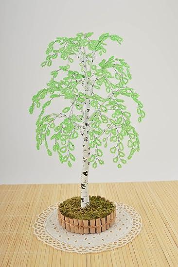 Amazon.de: Handgefertigt Perlen Baum Home Decor außergewöhnliche ...